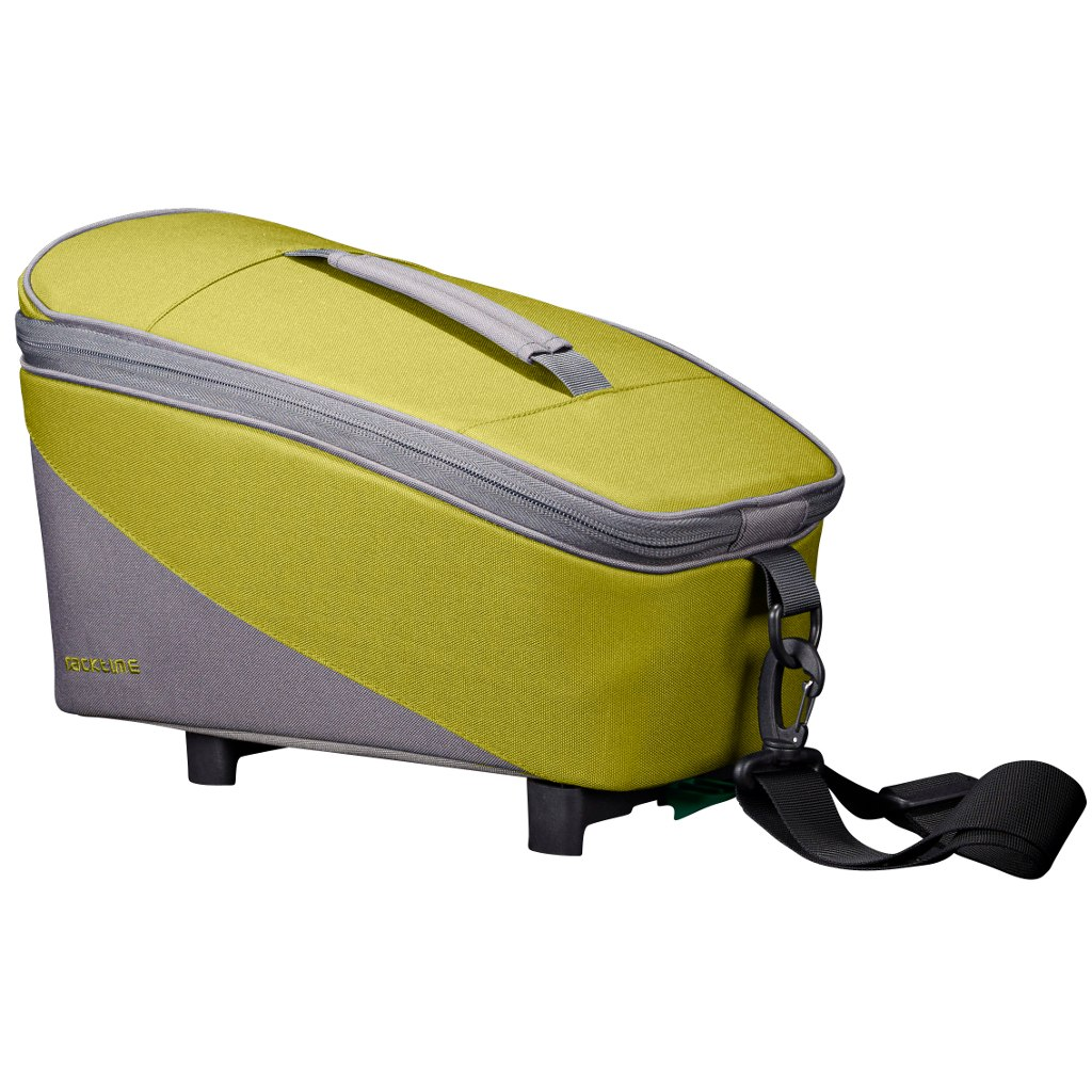 Racktime Talis Rack Top Bag - Lime Green   Stone Grey