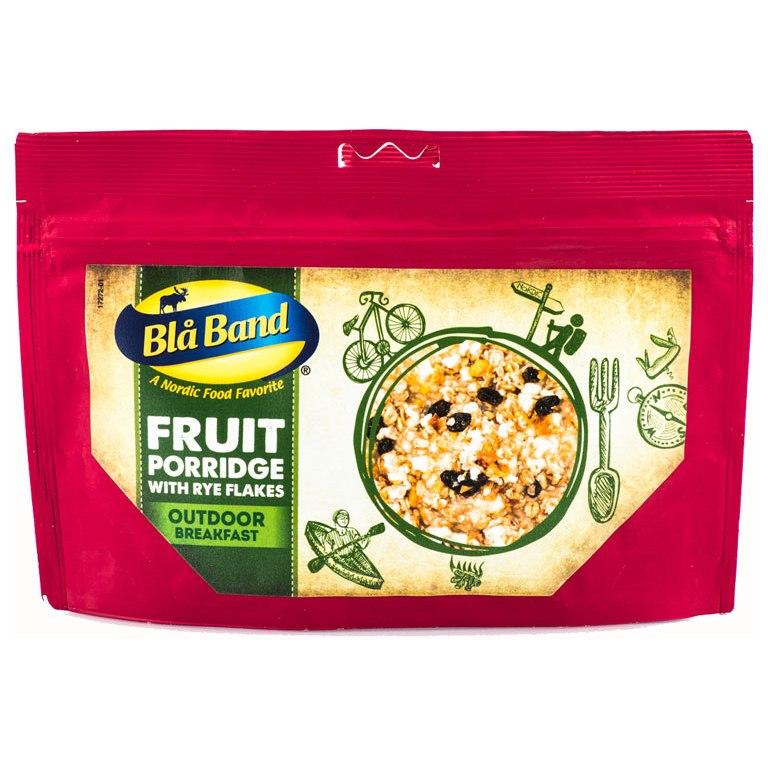 Blå Band Fruit Porridge with Rye Flakes - Outdoor Breakfast - 141g