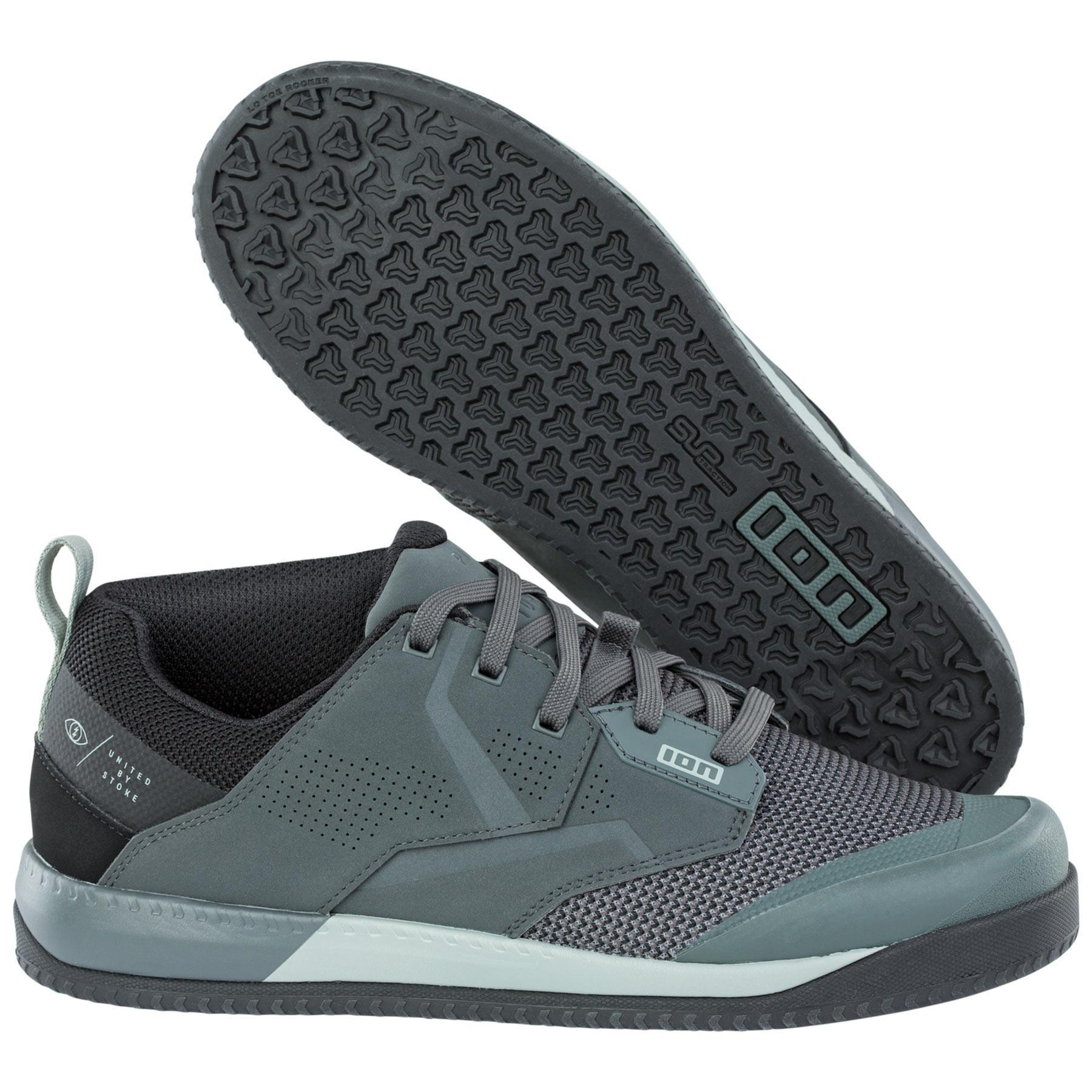 ION Bike Schuhe Scrub Amp für MTB - Thunder Grey