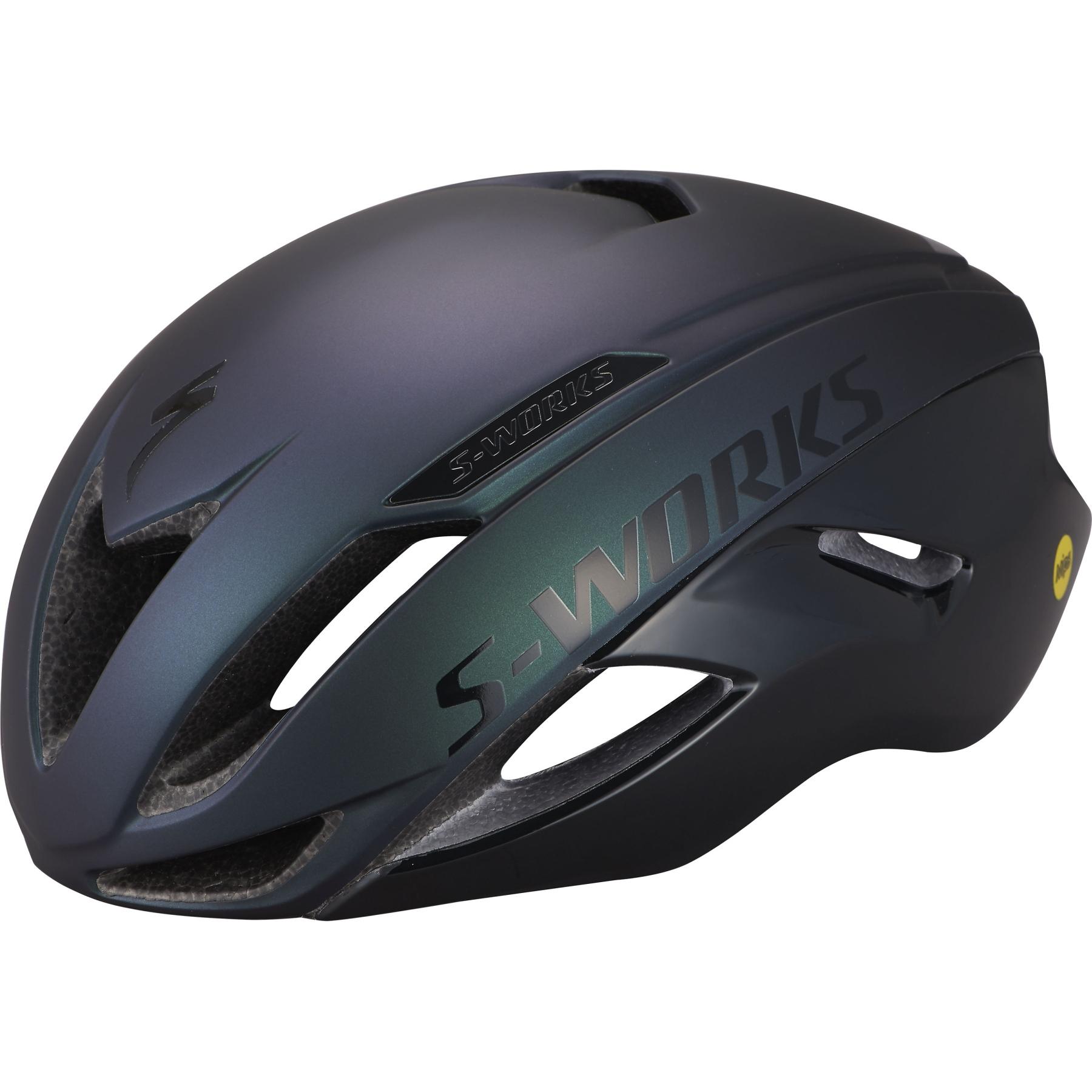 Specialized S-Works Evade II MIPS Helmet - Satin Chameleon/Gloss Black