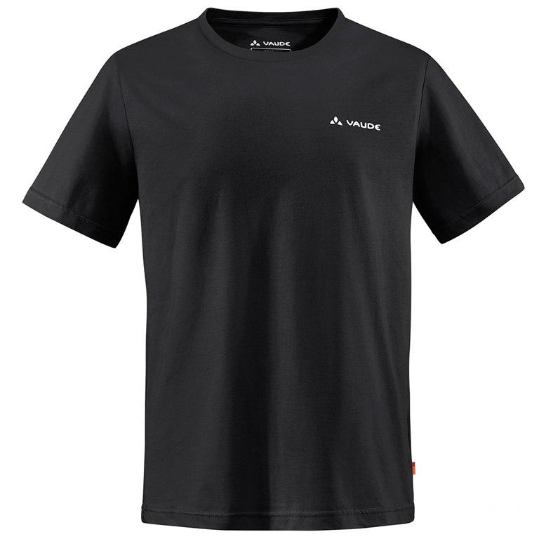 Vaude Brand T-Shirt - schwarz