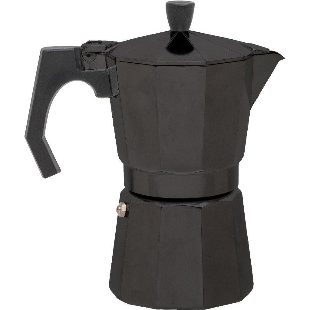basic NATURE | Relags Espresso Maker Bellanapoli 6 Cups - black