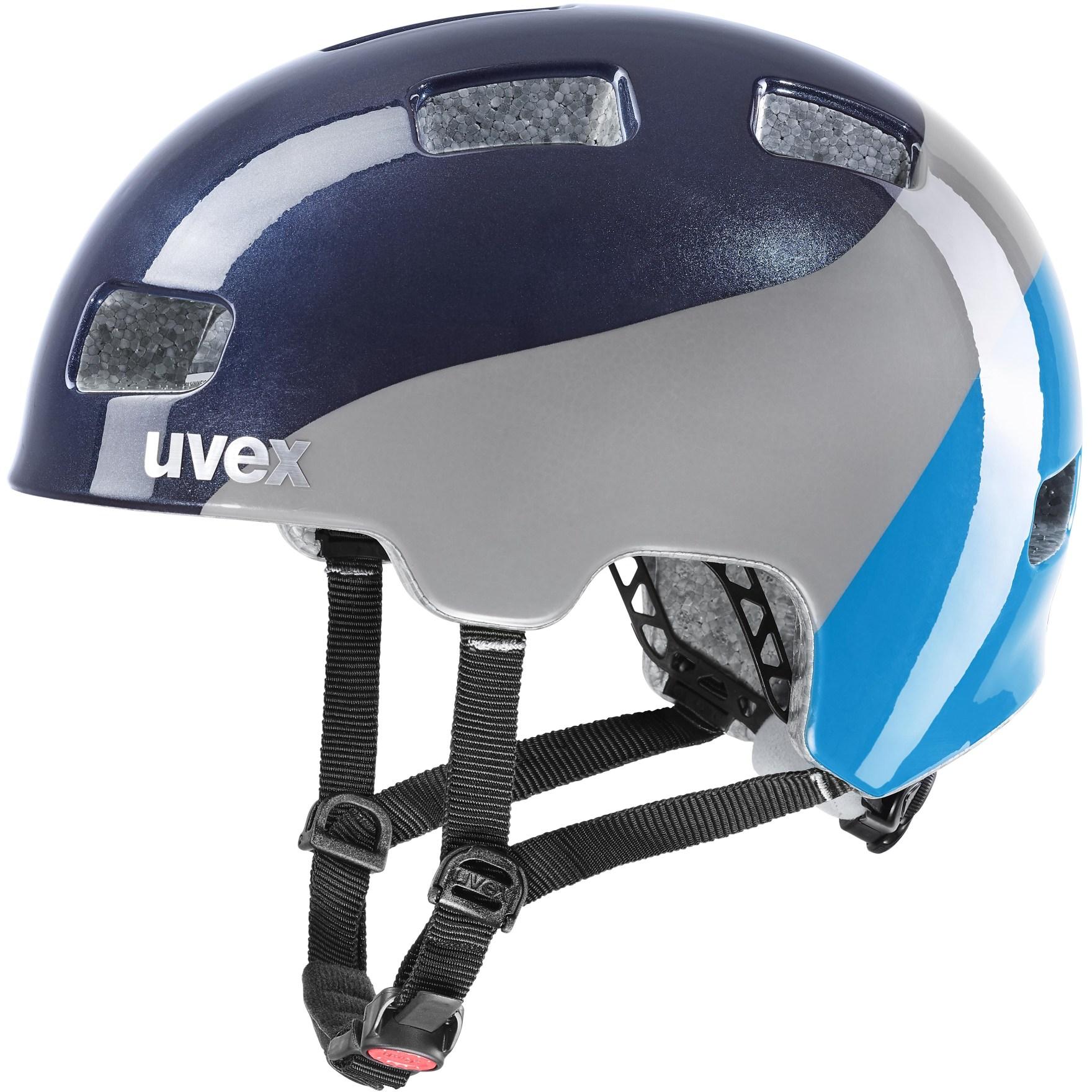 Uvex hlmt 4 Kids Helmet - deep space-blue wave
