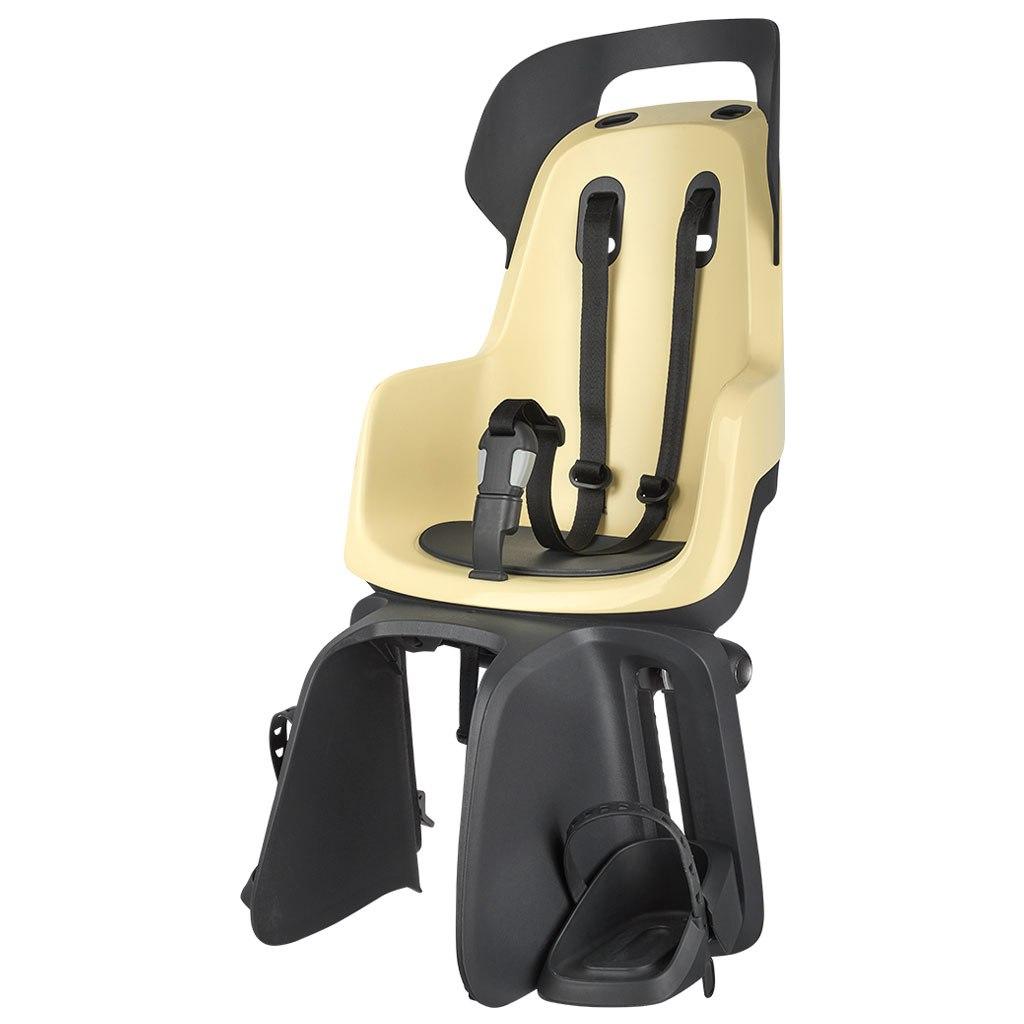Bobike GO maxi Child Bike Seat - Carrier Mount - Lemon Sorbet