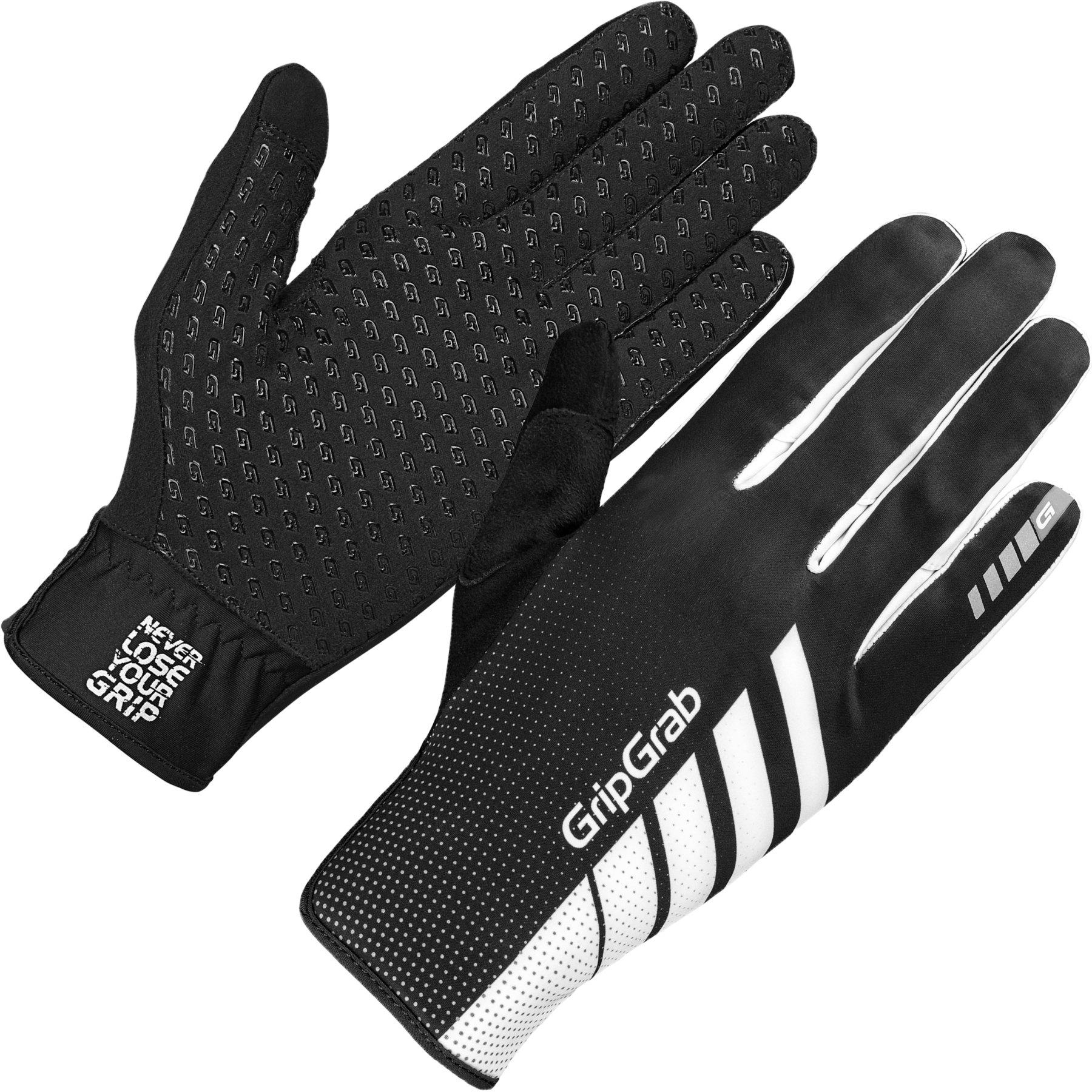 GripGrab Raptor Windproof Lightweight Raceday Winter Glove - Black/White