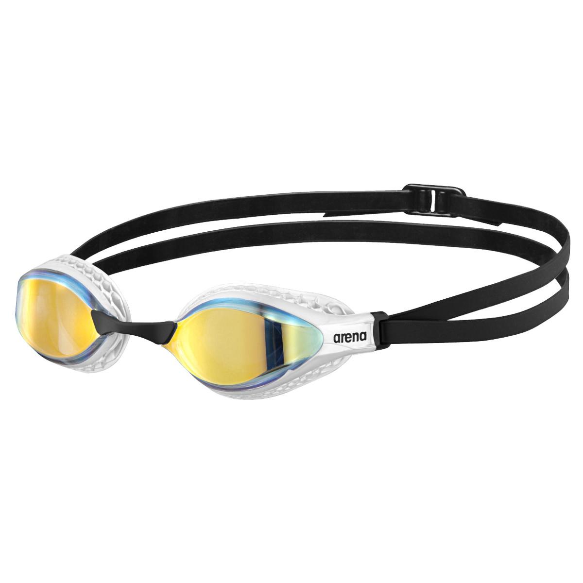 arena Airspeed Mirror Yellow Copper/White Gafas de natación