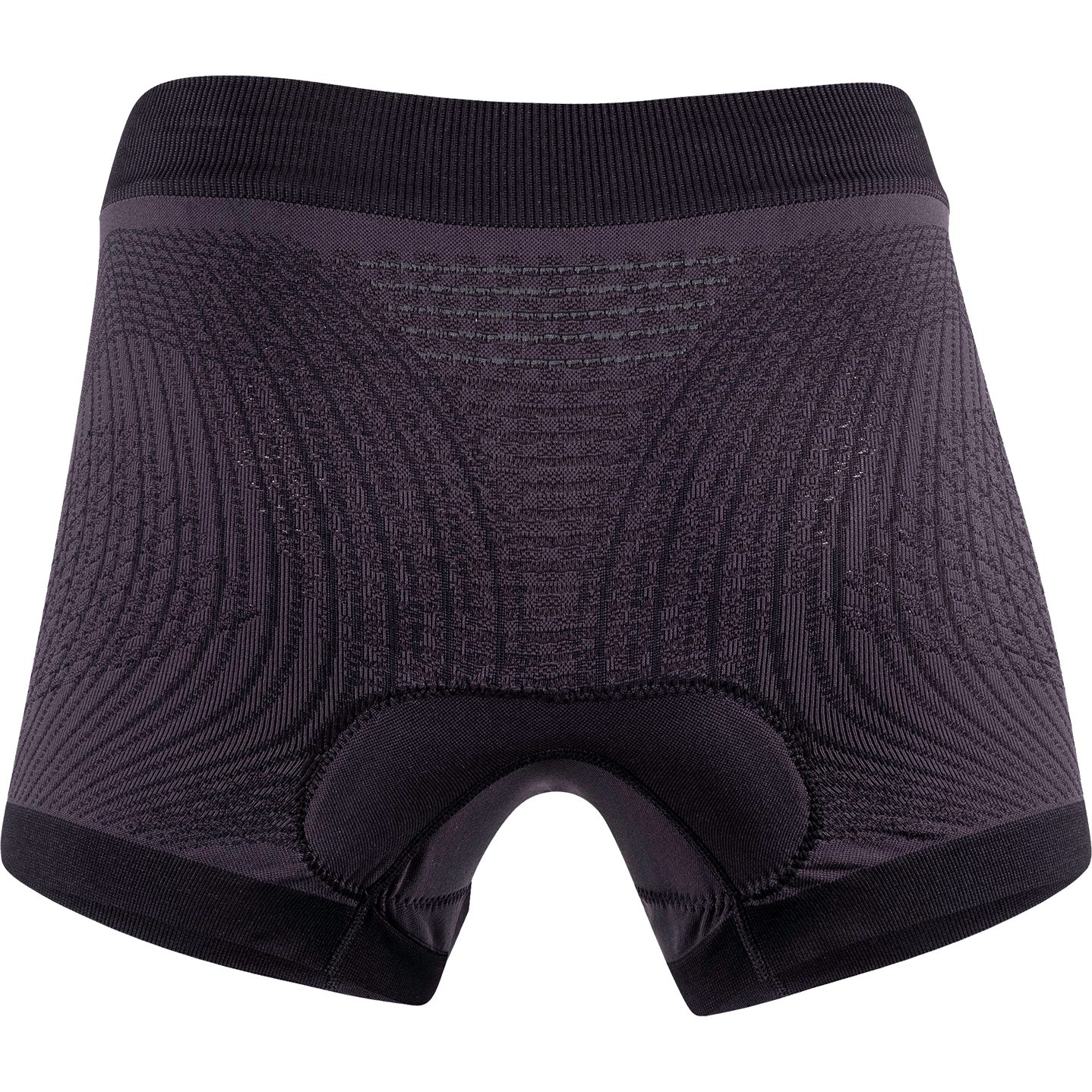 Image of UYN Lady Motyon 2.0 Underwear Boxer Whit Pad - Black Board/White