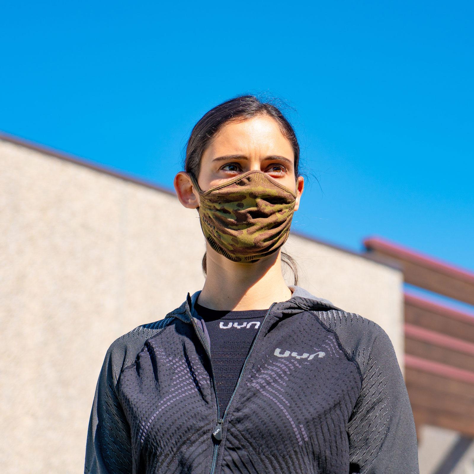 Bild von UYN Community Mask Unisex Gesichtsmaske - camouflage brown