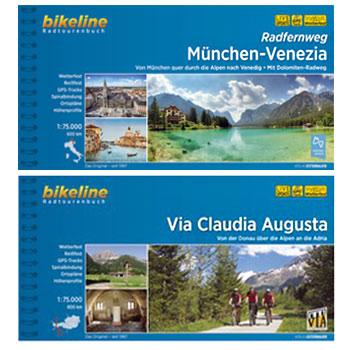 Bikeline Radtourenbücher - Deutschland/Österreich/Italien
