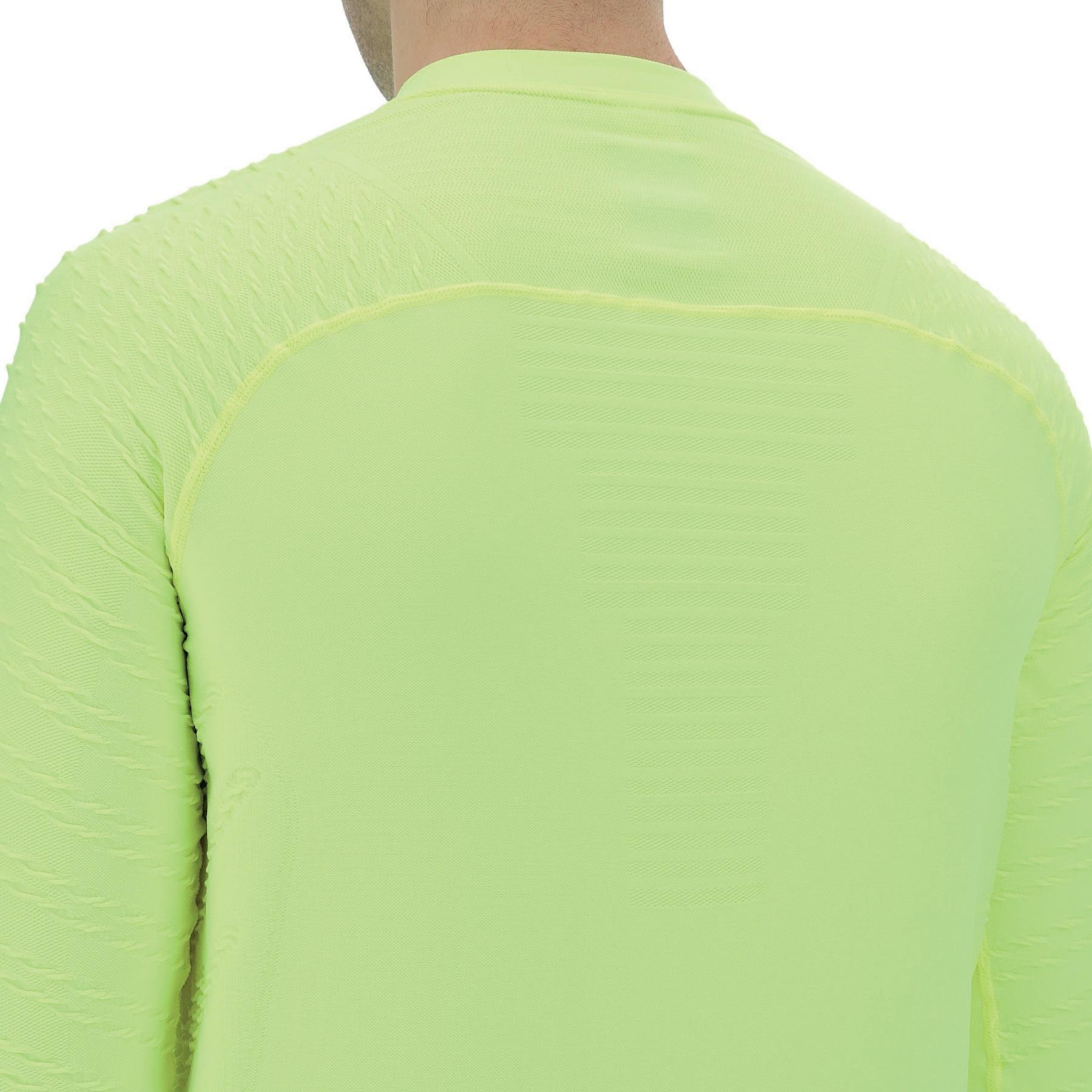 Image of UYN City Running Longsleeve Shirt - Yellow Fluo