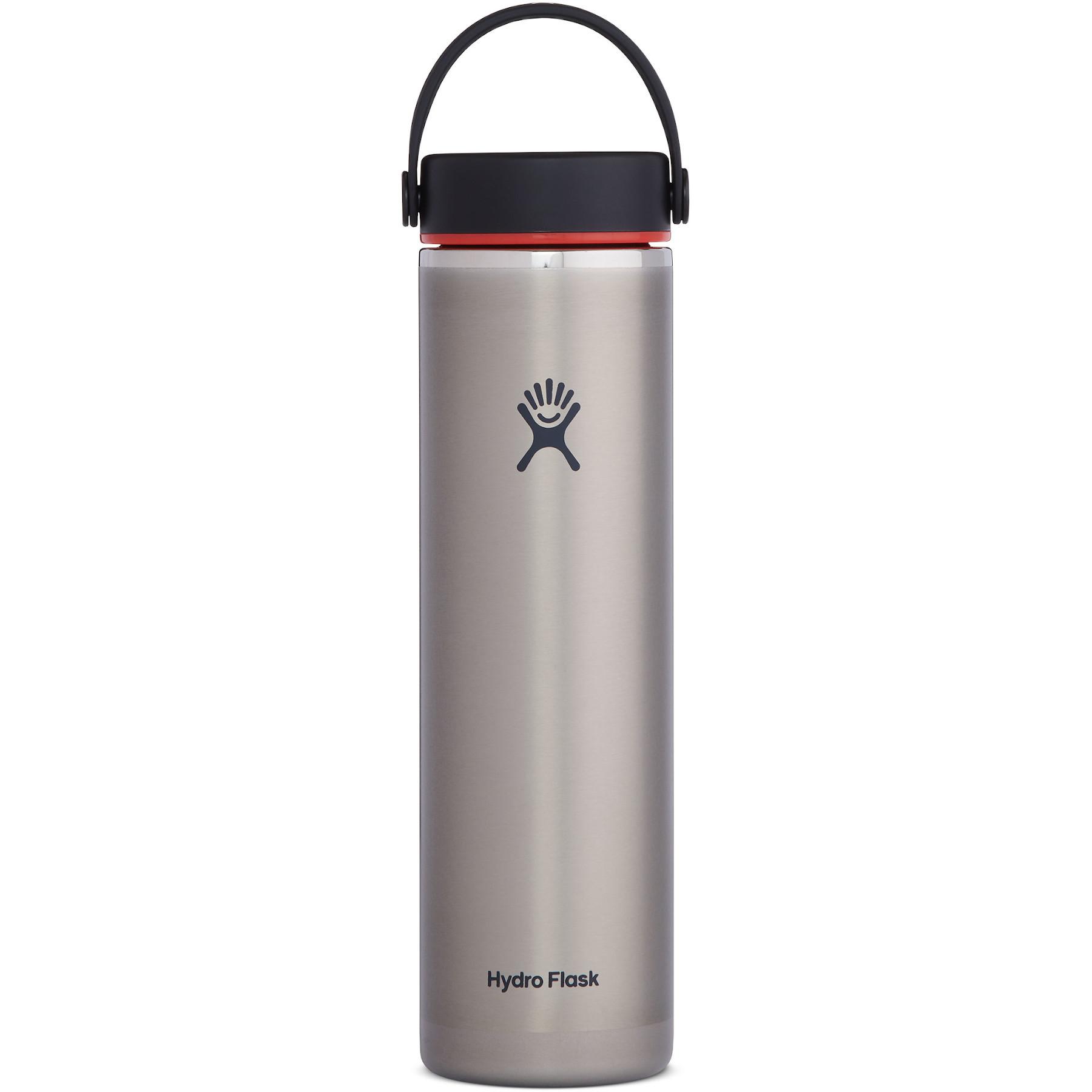 Produktbild von Hydro Flask 24 oz Lightweight Wide Mouth Trail Series Thermoflasche 710 ml - Slate