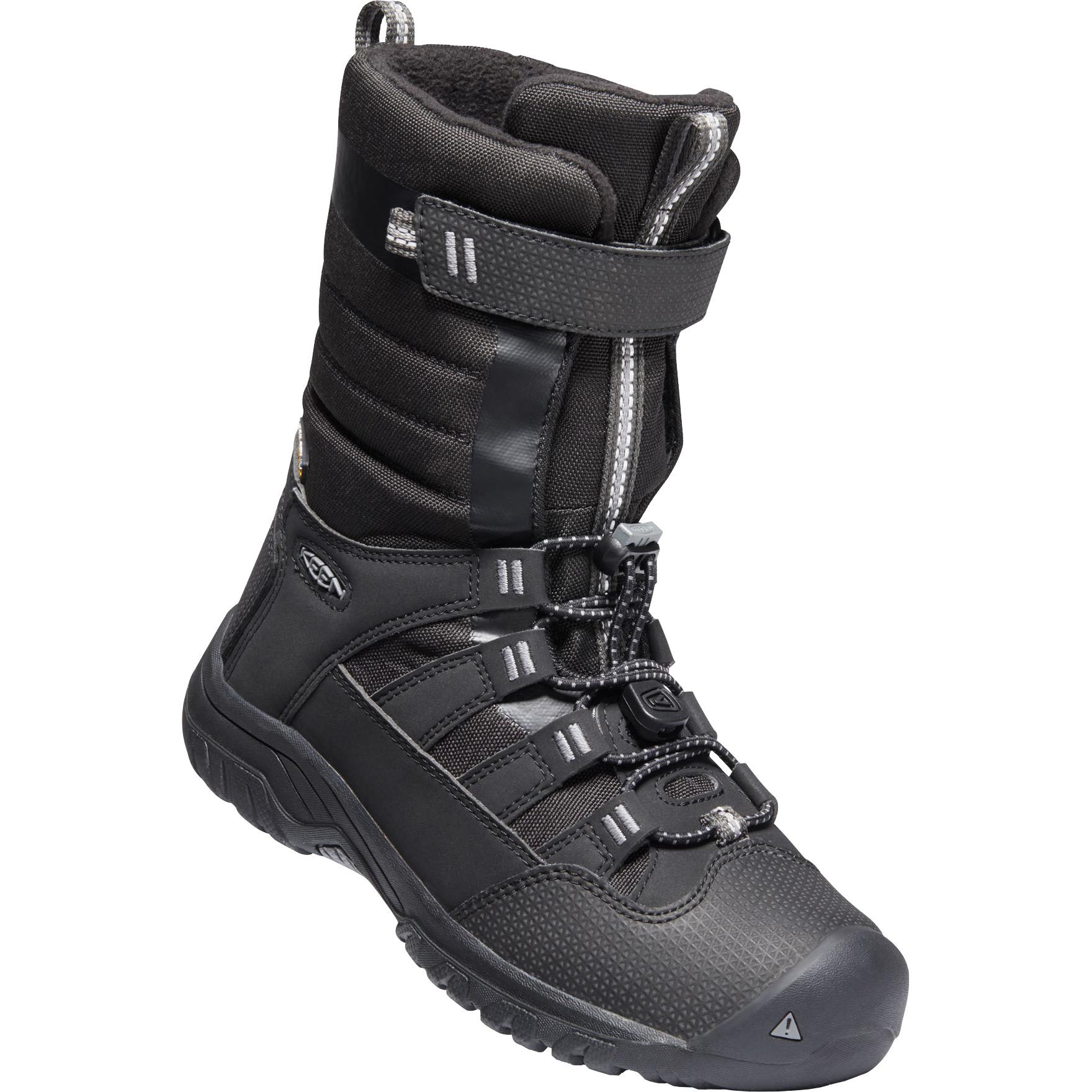 KEEN Winterport Neo Waterproof Youth Winter Boots - Raven / Black