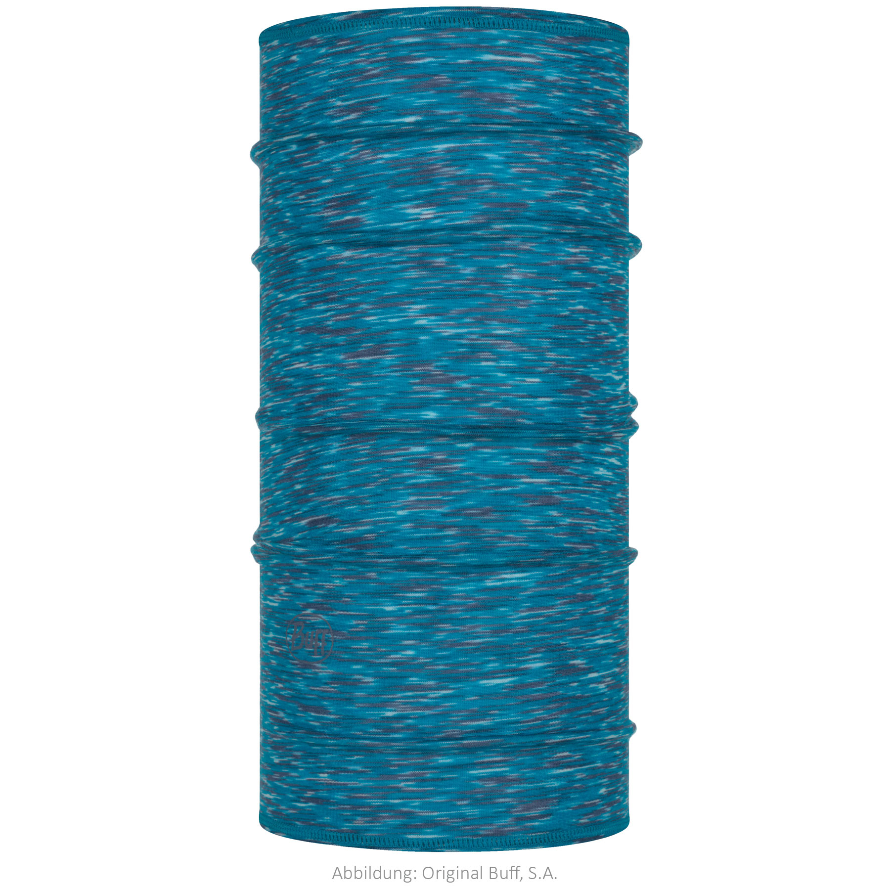 Buff® Lightweight Merino Wool Multifunctional Cloth Kids - Ice Multi Stripes