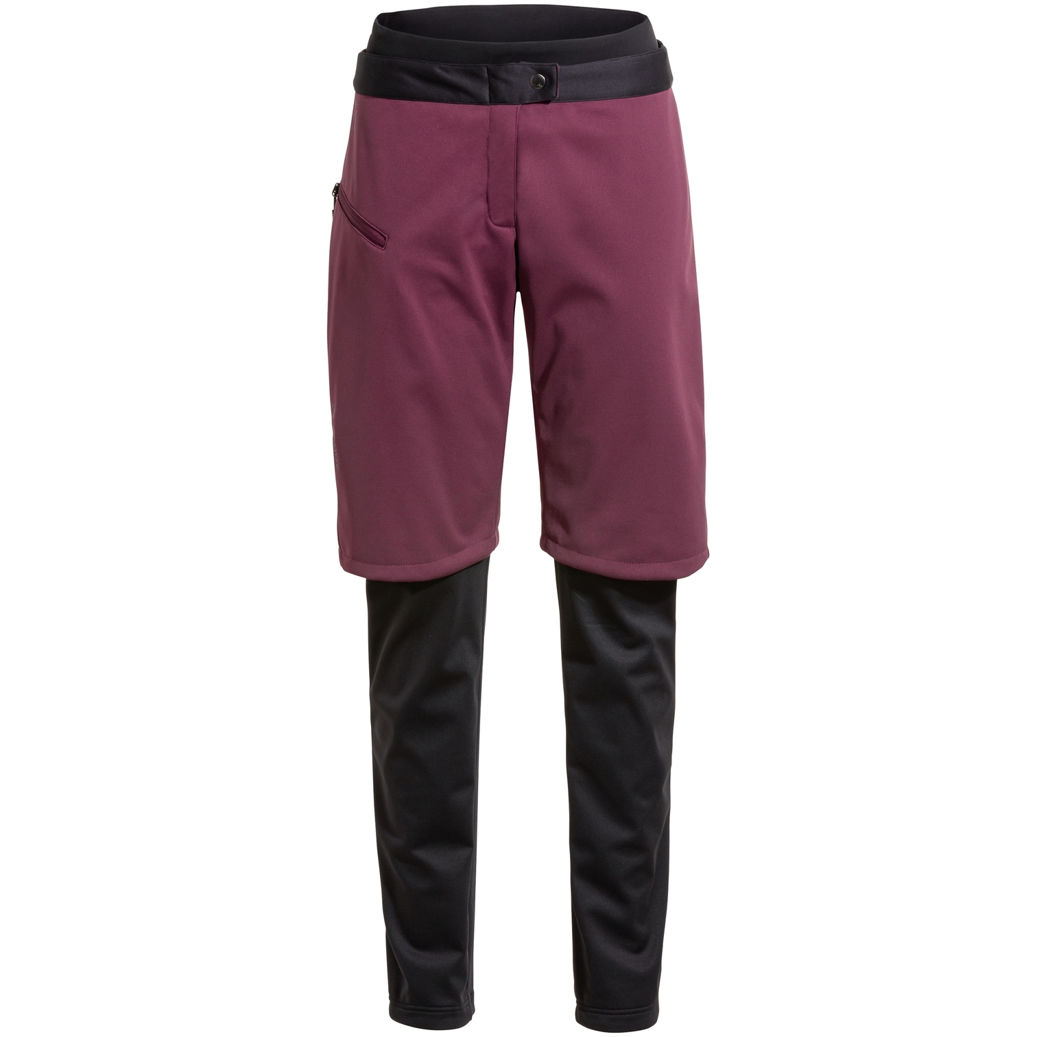 Vaude Women's All Year Moab 3in1 Pants w/o SC - cassis