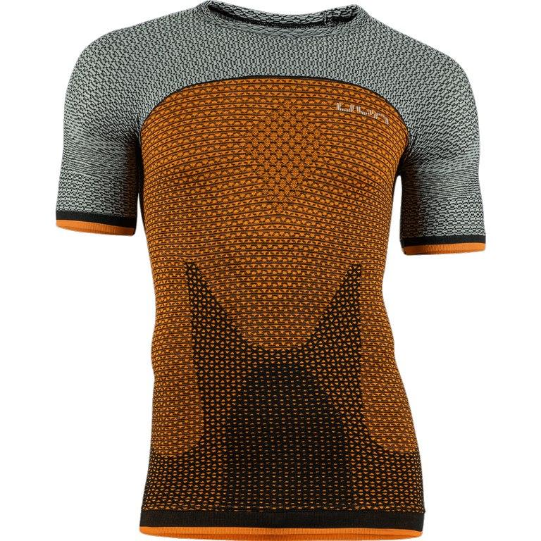UYN Alpha Running T-Shirt - Dragon Fire/Sleet Grey