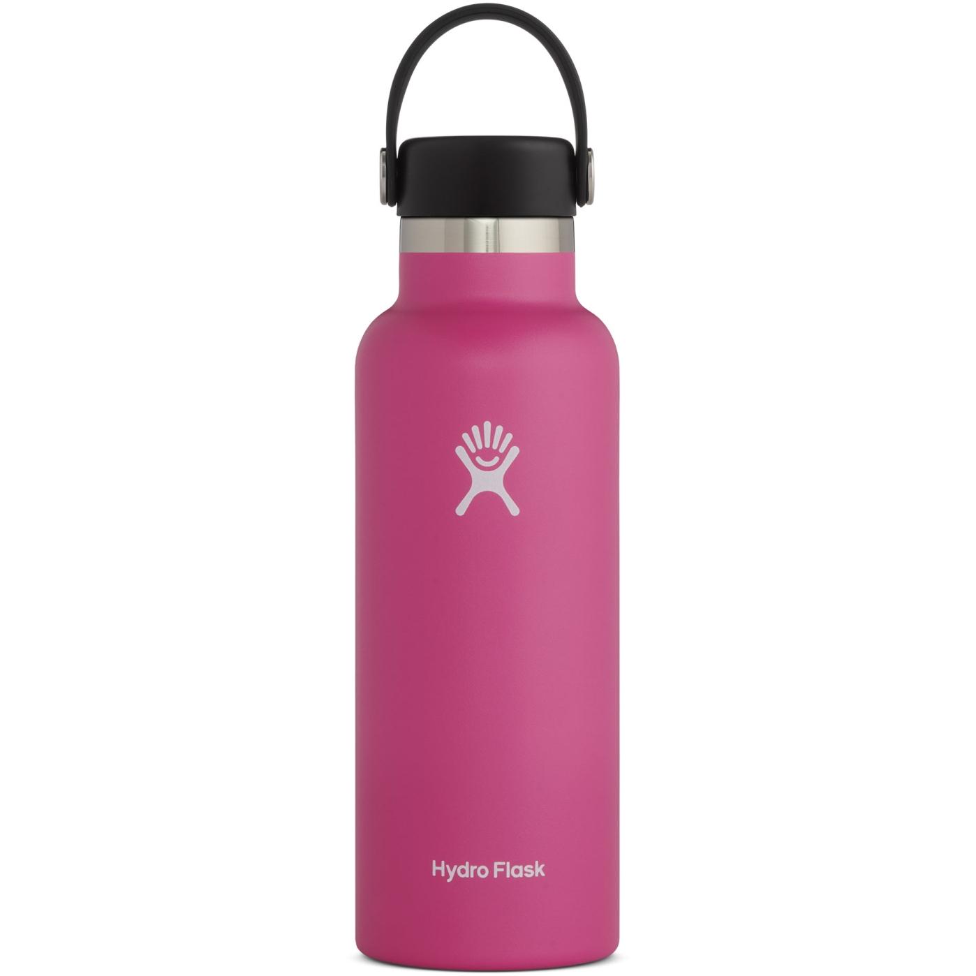 Produktbild von Hydro Flask 18oz Standard Mouth Flex Cap Thermoflasche - 532ml - Carnation