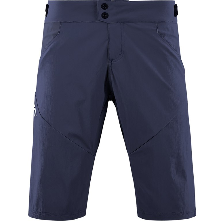 CUBE TEAMLINE WS Baggy Women's Shorts incl. Liner Shorts - blue