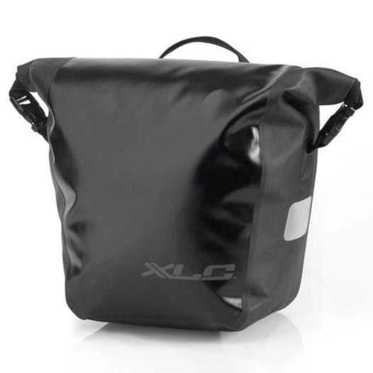 XLC BA-W33 Einzeltaschenset - schwarz