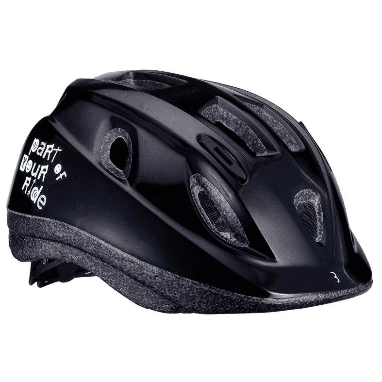 BBB Cycling Boogy BHE-37 Kids Helmet - black glossy