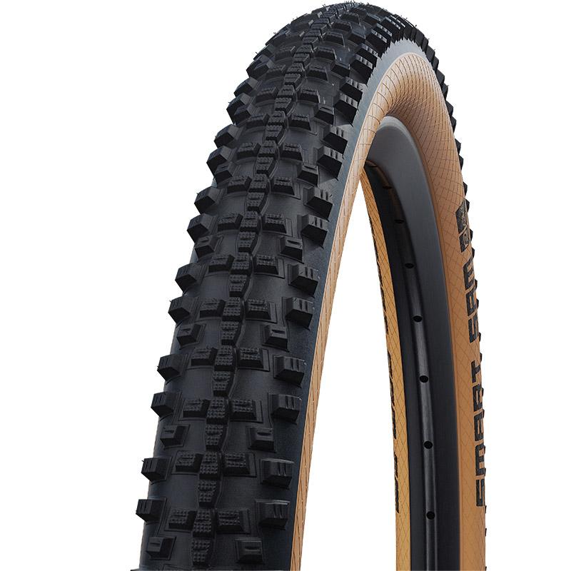 Image of Schwalbe Smart Sam DD Performance MTB Folding Tire - Addix - RaceGuard - E-50 - 29x2.60 Inches - Classic Sidewall