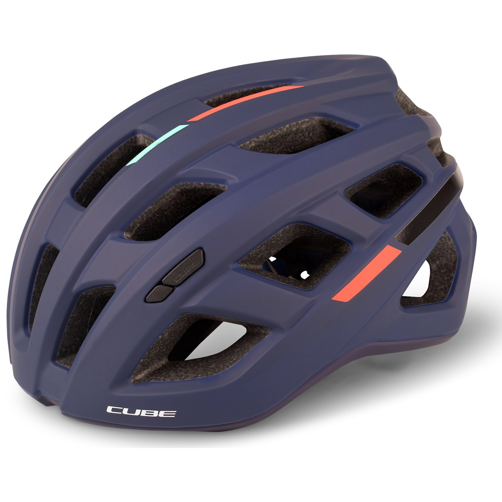 CUBE Helmet ROAD RACE Teamline - blue´n´mint