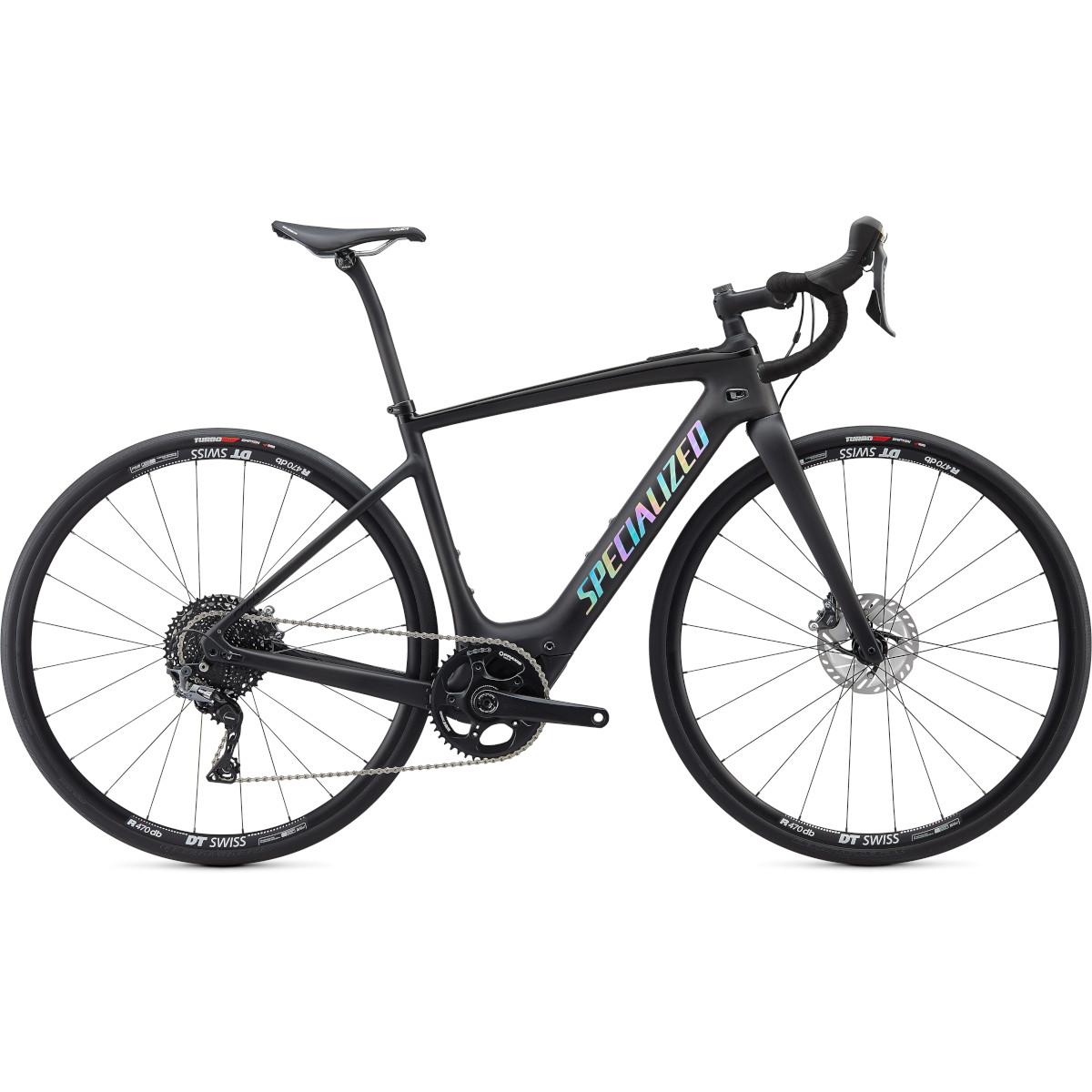 Produktbild von Specialized TURBO CREO SL COMP - Gravel Carbon E-Bike - 2022 - satin carbon / holo reflective / black