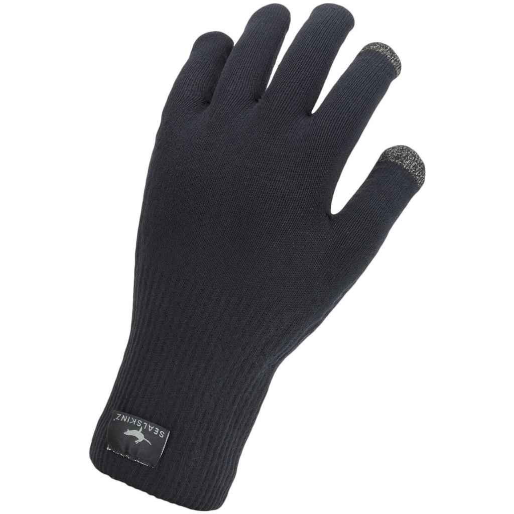 Produktbild von SealSkinz Waterproof All Weather Ultra Grip Knitted Handschuhe - Black
