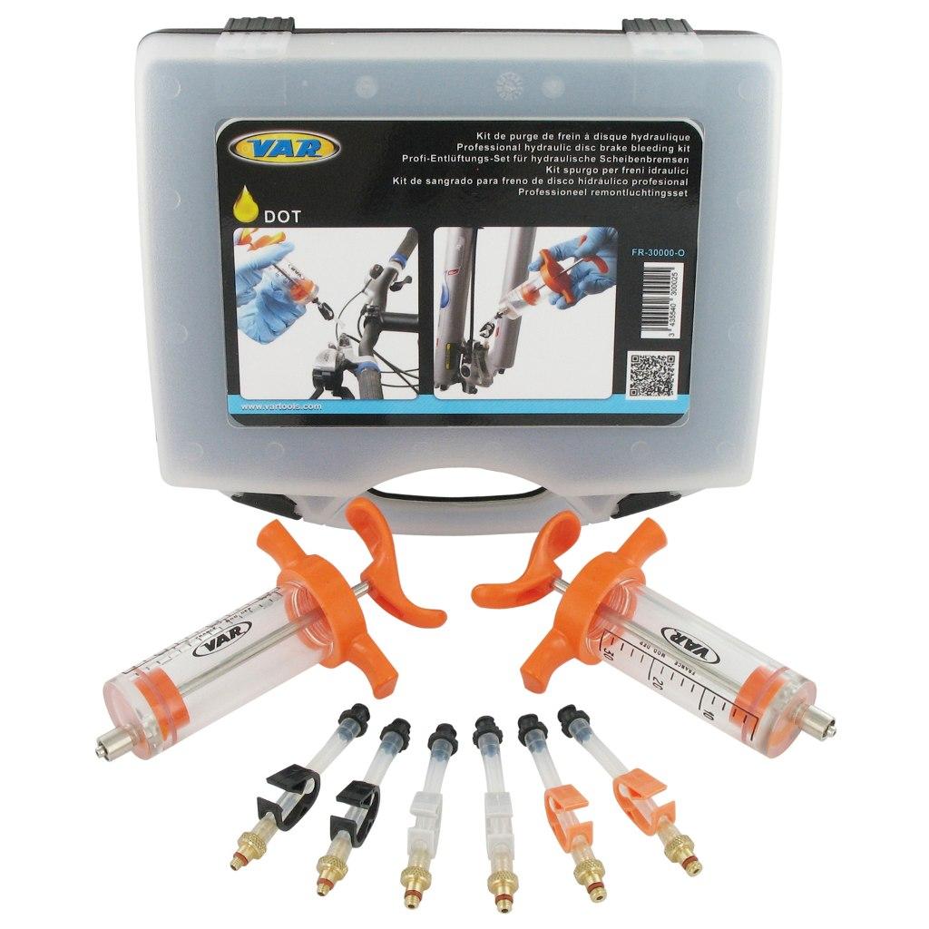 VAR Entlüftungs-Kit für DOT Bremsflüssigkeit - FR-30000-O