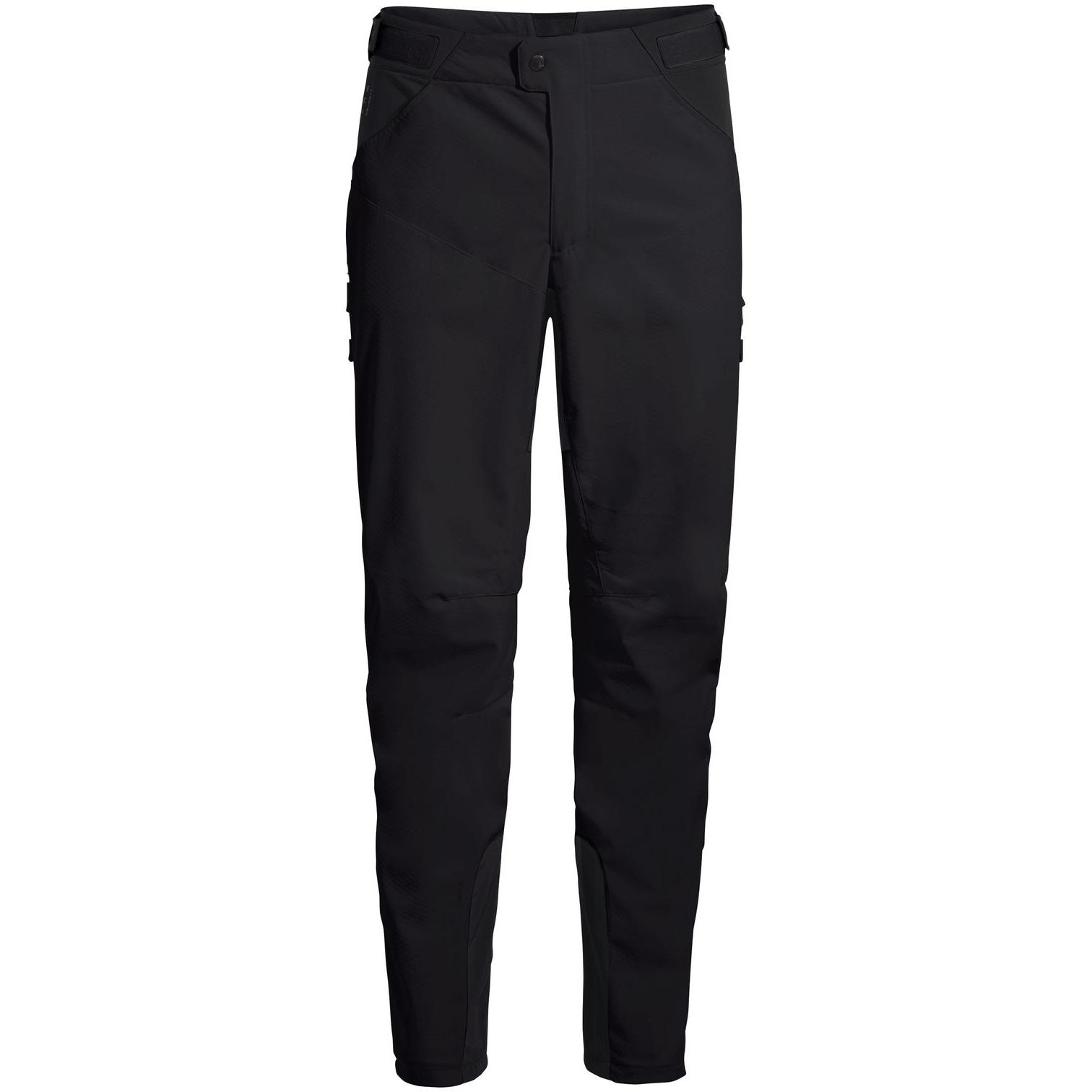 Foto de Vaude Qimsa Softshell Pantalones II - Regular - negro/negro