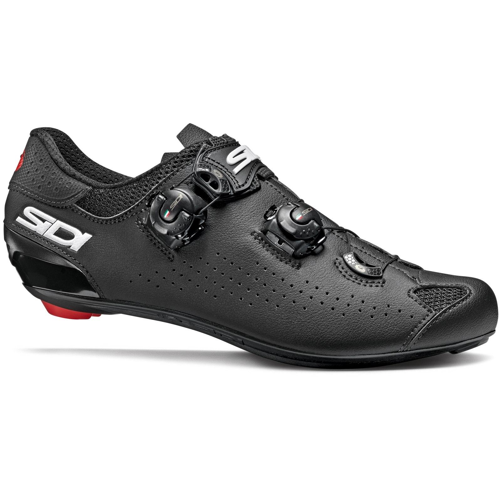 Sidi Genius 10 Zapatillas Ciclismo Carretera - negro/negro