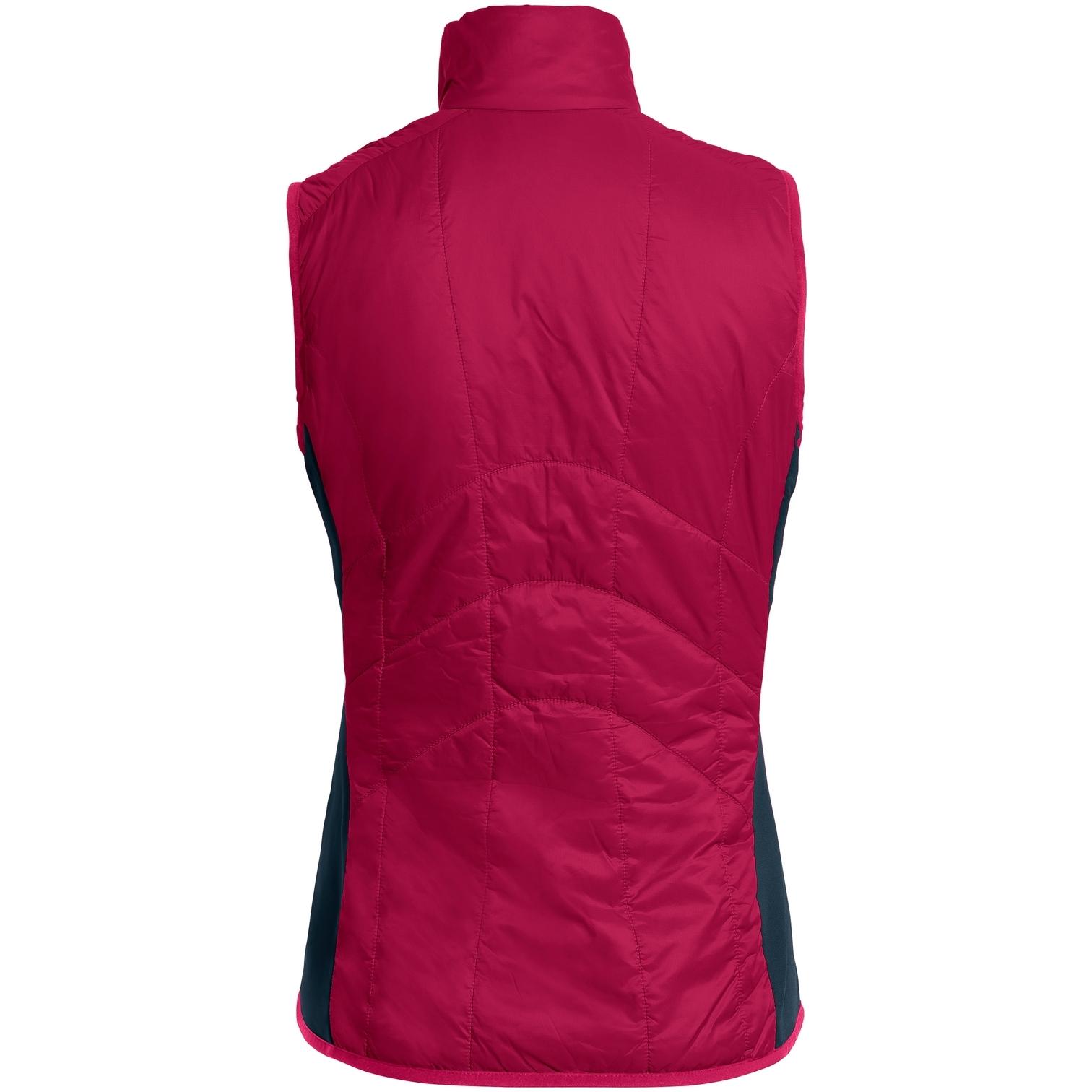 Image of Vaude Women's Sesvenna Vest III - crimson red