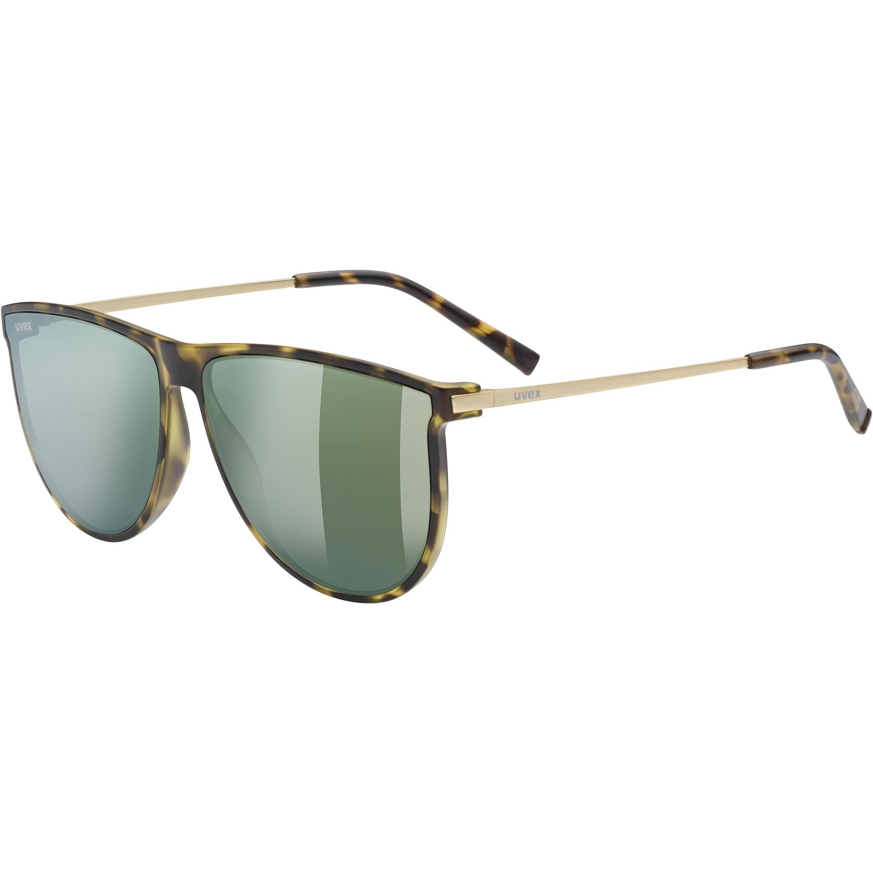 Uvex lgl 47 Glasses - havanna mat/mirror green