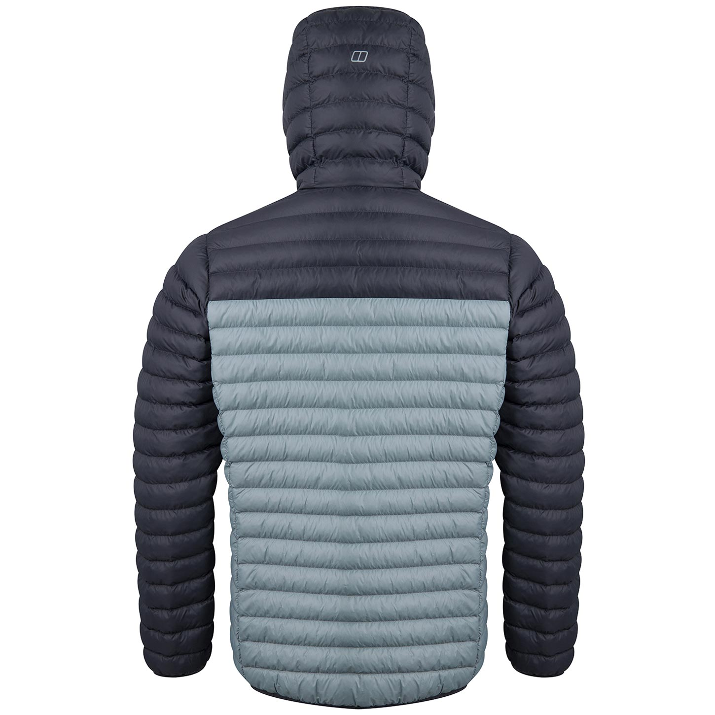 Image of Berghaus Men's Vaskye Insulated Jacket - Monument/Grey Pinstripe CY1