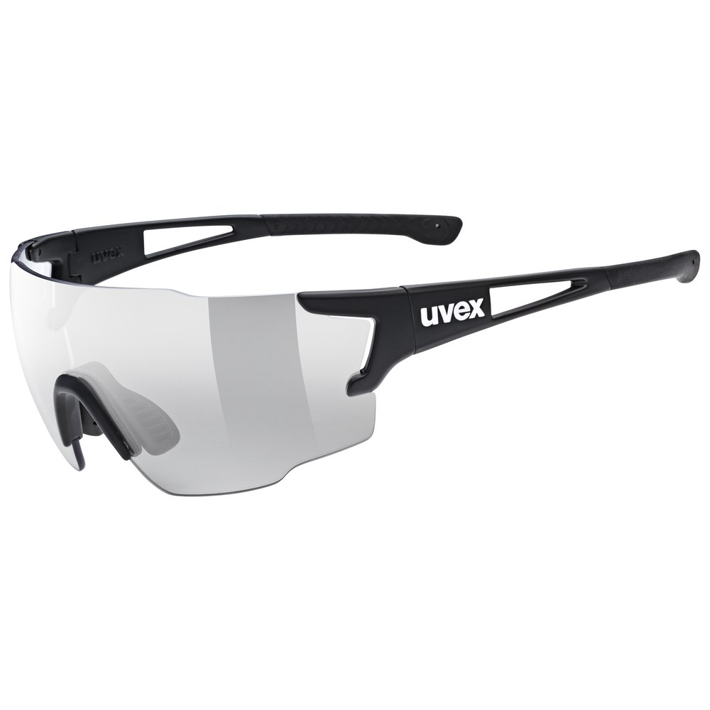Uvex sportstyle 804 v - black mat/variomatic litemirror smoke Brille