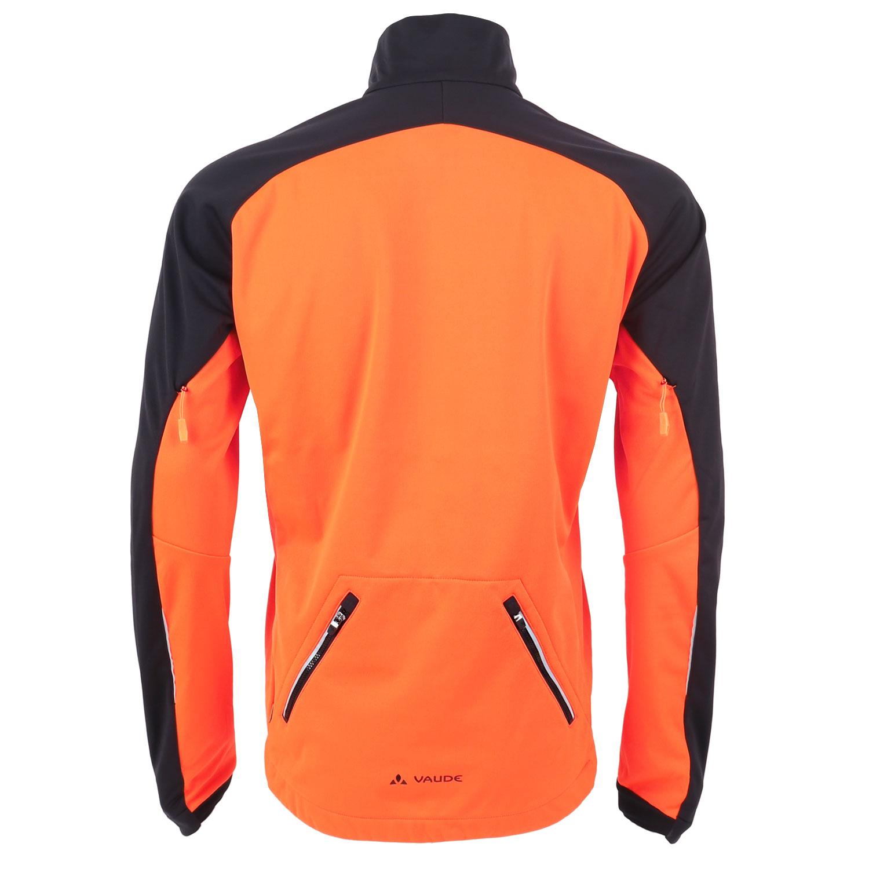 Image of Vaude Men's Posta Softshell Jacket VI - neon orange