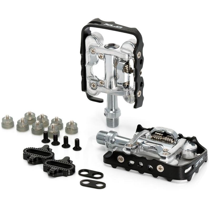XLC PD-S02 MTB System-Pedal - black/silver