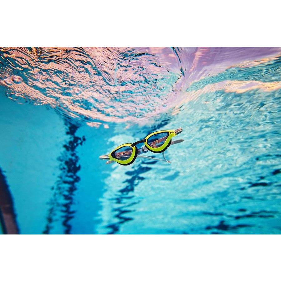 Bild von Zone3 Viper Speed Racing Schwimmbrille - grey/lime/black