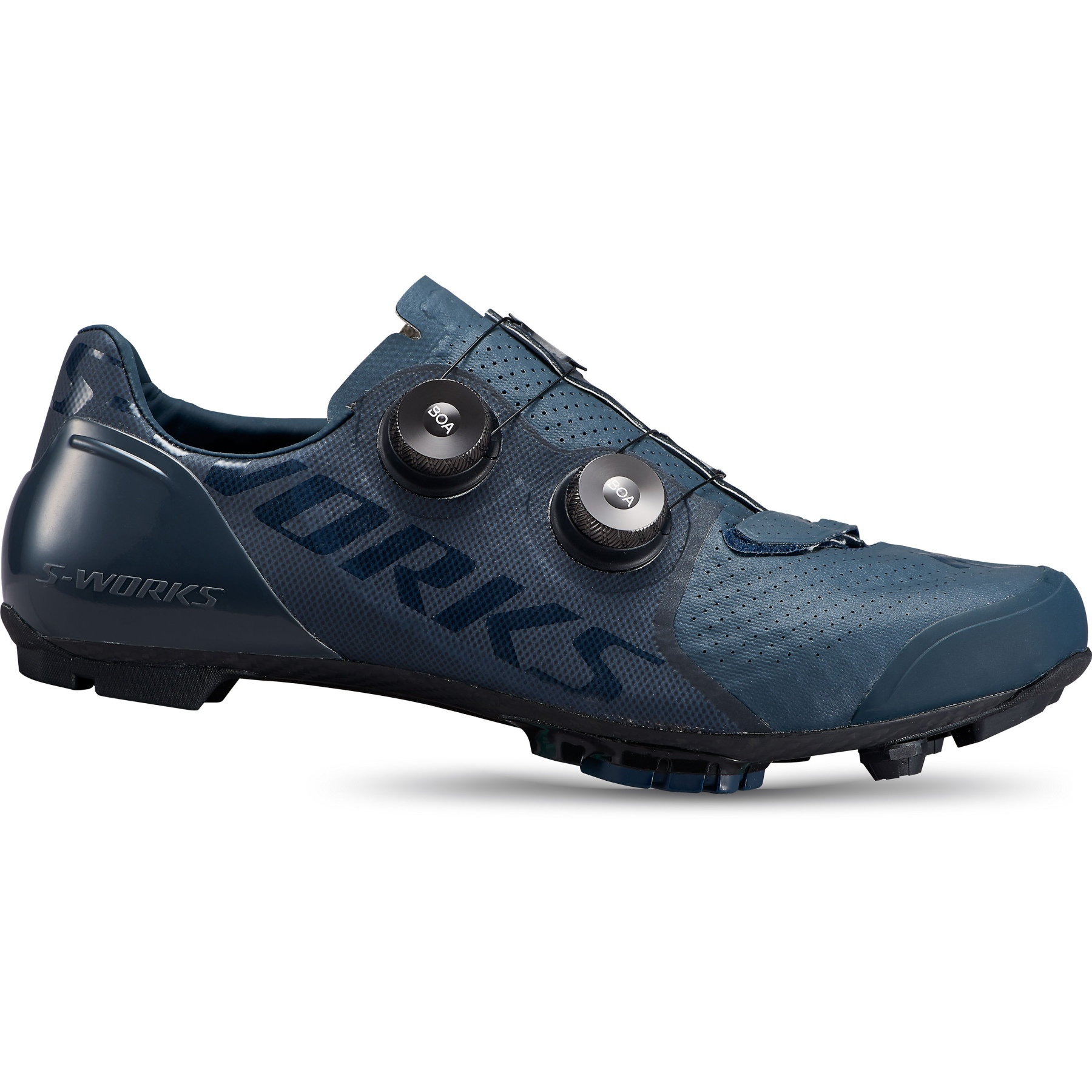 Produktbild von Specialized S-Works Recon MTB-Schuh - Cast Blue/Metallic