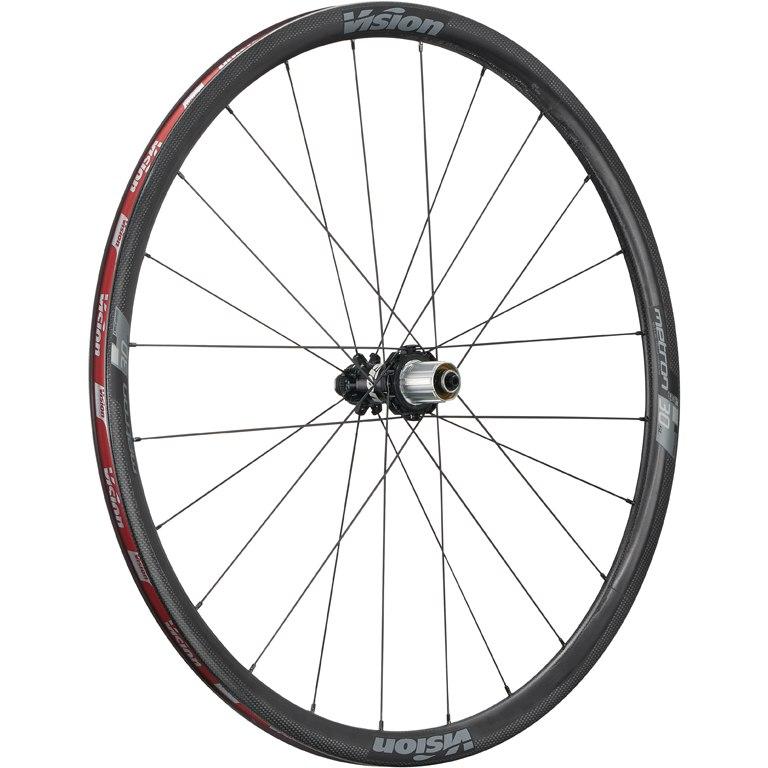 Bild von Vision Metron 30 SL Disc Carbon Laufradsatz - Tubeless Ready - Drahtreifen - Centerlock - VR: 12x100mm/QR | HR: 12x142mm/QR - SRAM XDR