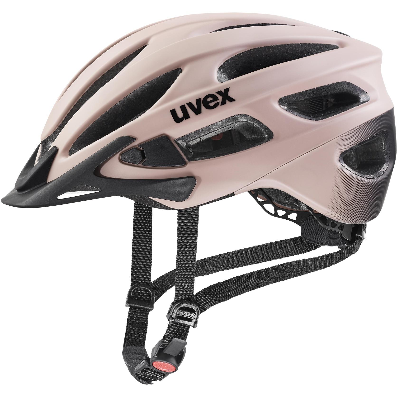 Uvex true cc Helmet - dust rose-black mat
