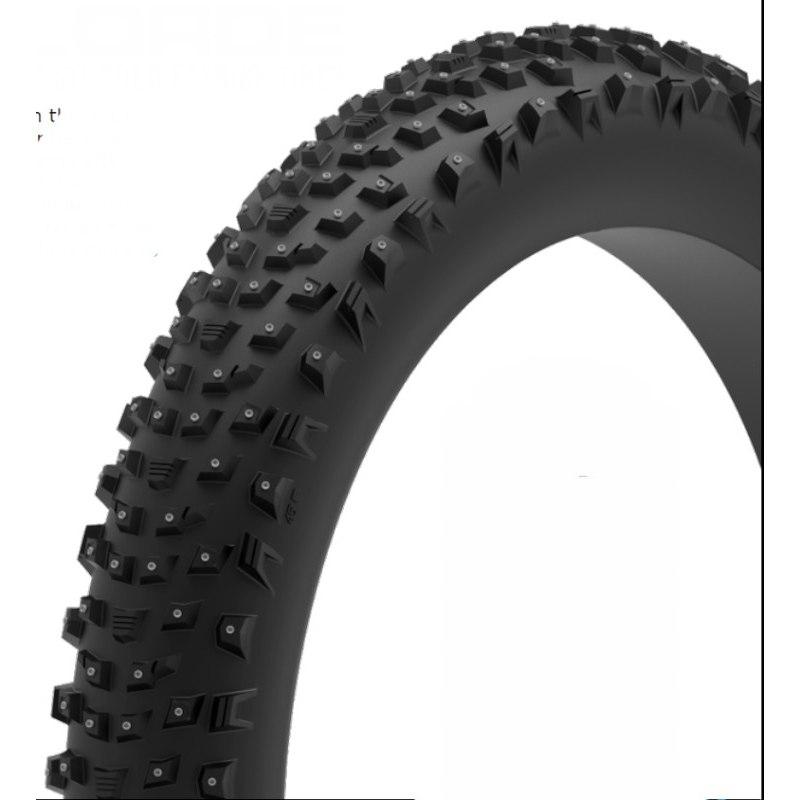 Imagen de 45NRTH Wrathlorde Fatbike Folding Tire - 300 XL Studs - Tubeless Ready - 26x4.2 Inch - 120TPI