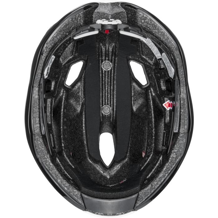 Image of Uvex race 9 Helmet - white - red mat