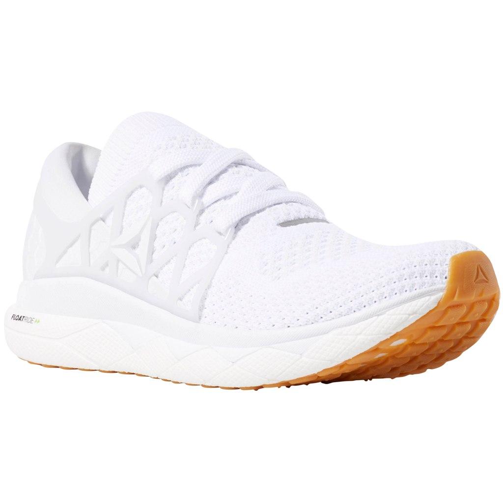 Reebok Men Floatride Run Ultraknit Running Shoe - white/true grey/black/gum DV3884