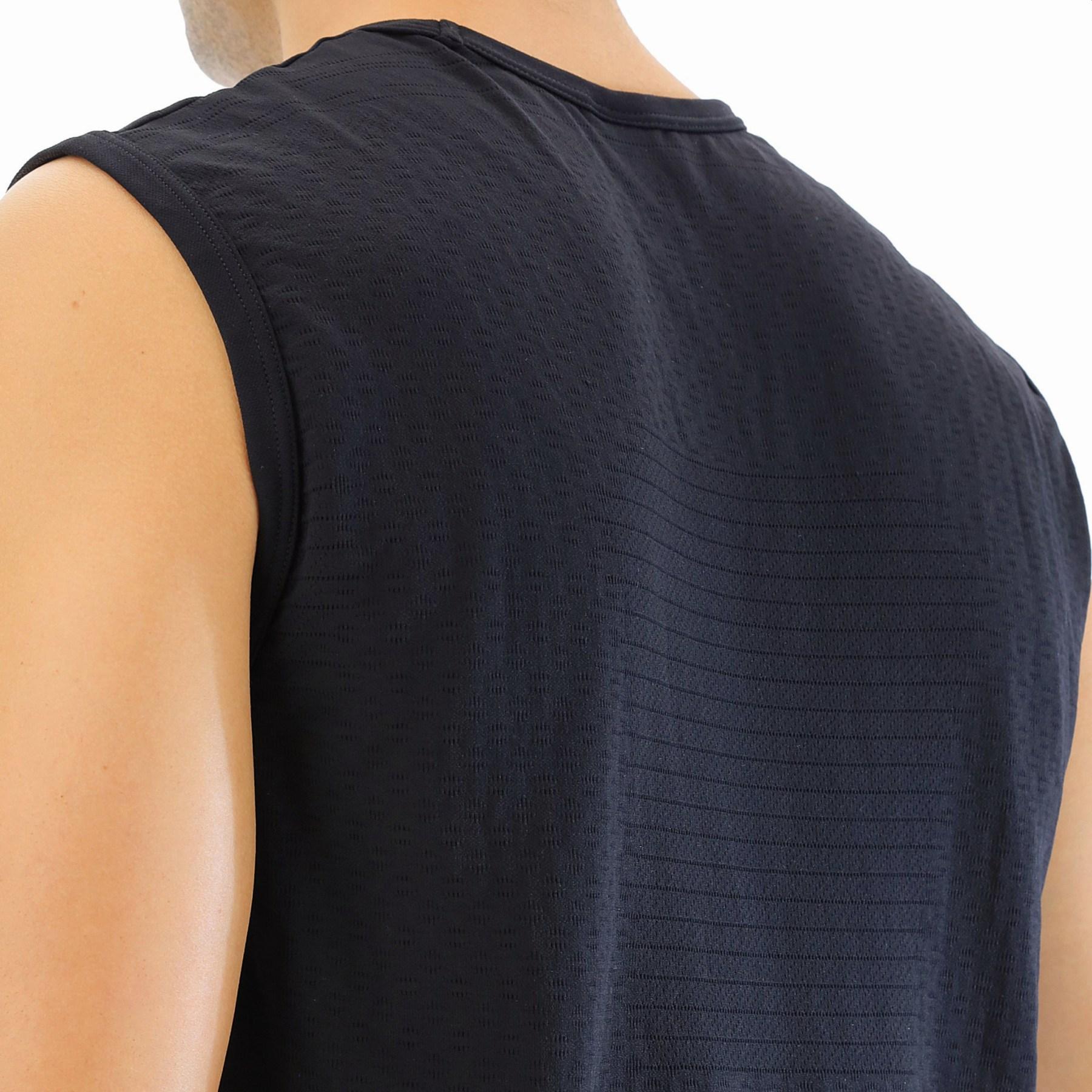 Bild von UYN Airstream Herren Laufen Ärmelloses Shirt - Black