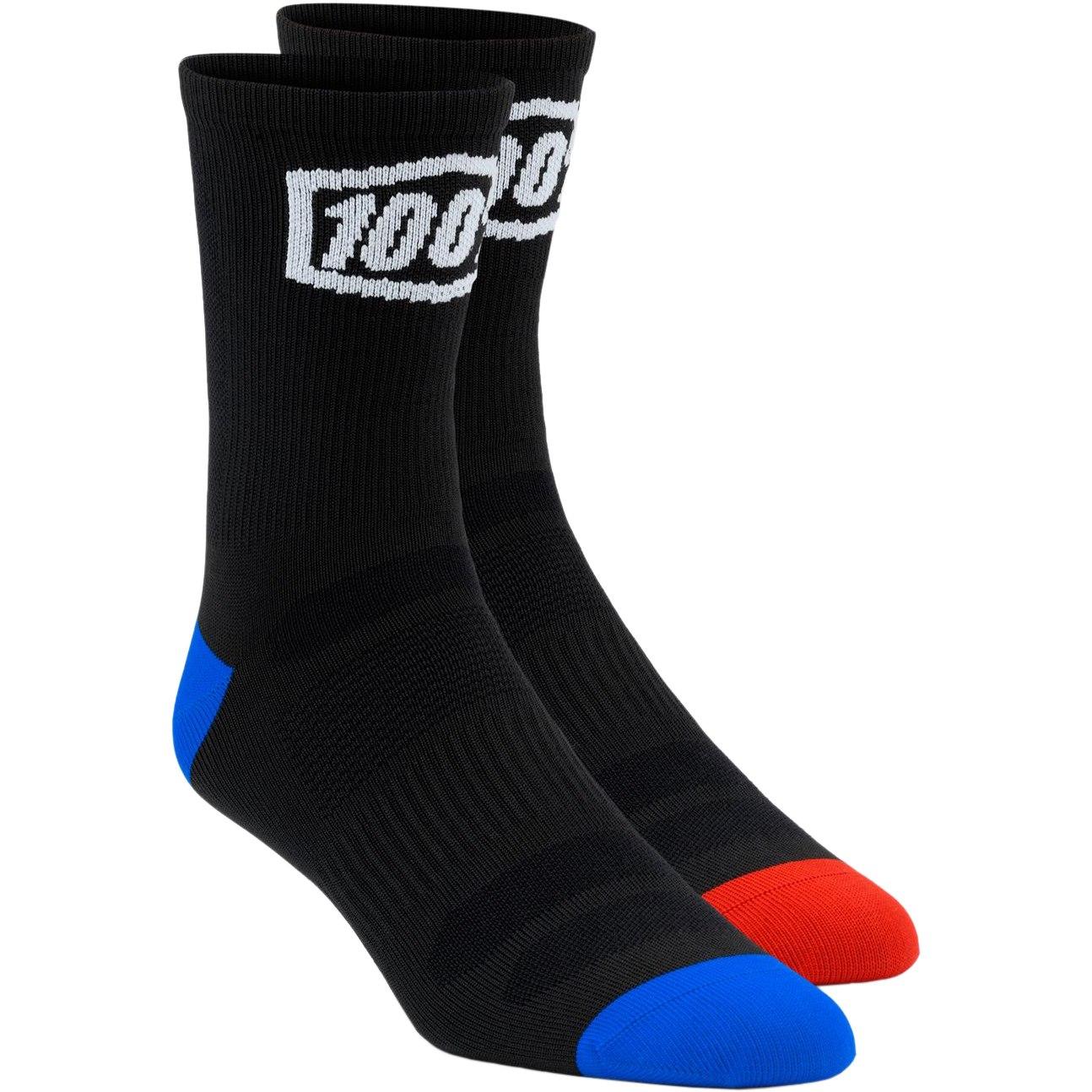100% Terrain Socks - Black