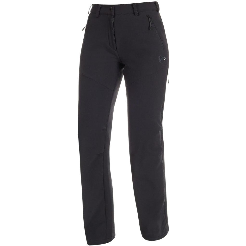 Mammut Winter Hiking Damen Softshell Hose - black