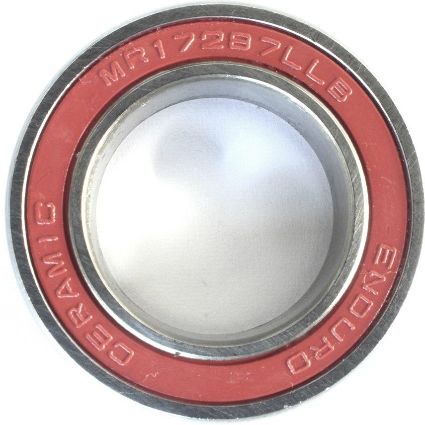 Foto de Enduro Bearings CHMR18307 LLB - ABEC 5 - Ceramic Hybrid Ball Bearing - 18x30x7mm