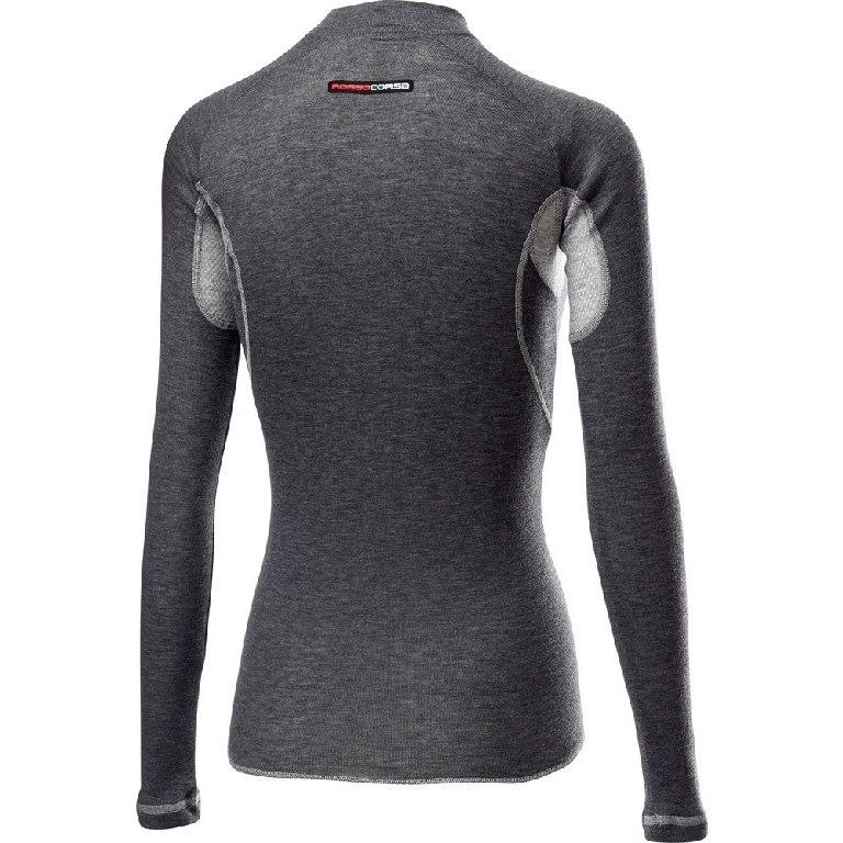 Image of Castelli Flanders 2 W Warm Long Sleeve Women's - grey 008