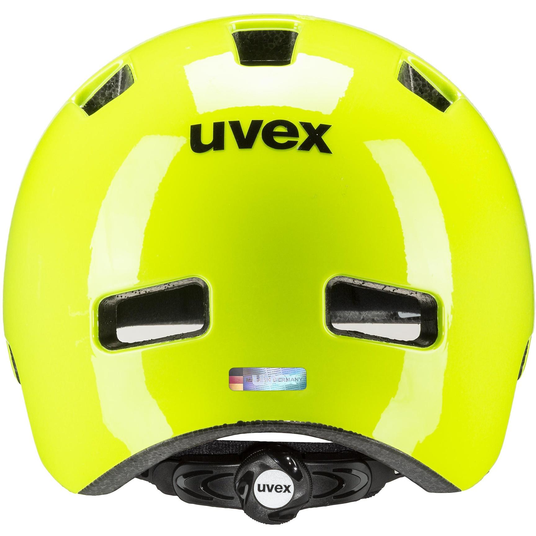 Image of Uvex hlmt 4 Kids Helmet - neon yellow