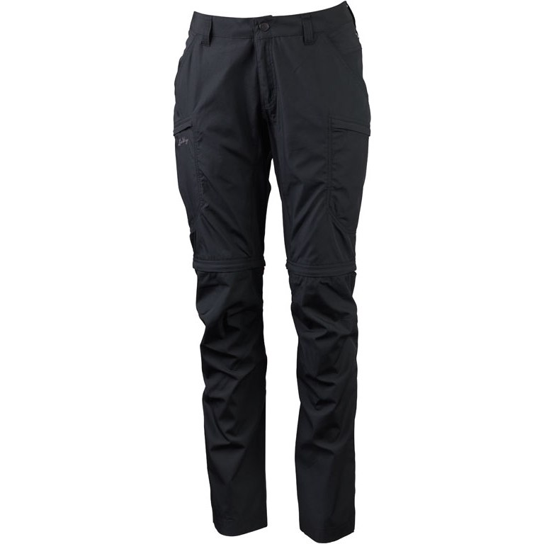 Lundhags Nybo ZipOff Women's Pants - Charcoal 890